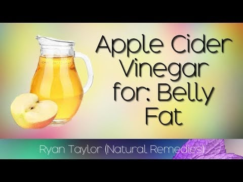 How To Lose Belly Fat (with Apple Cider Vinegar)