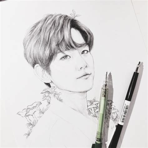 aerinah  twitter  progress shot baekhyun