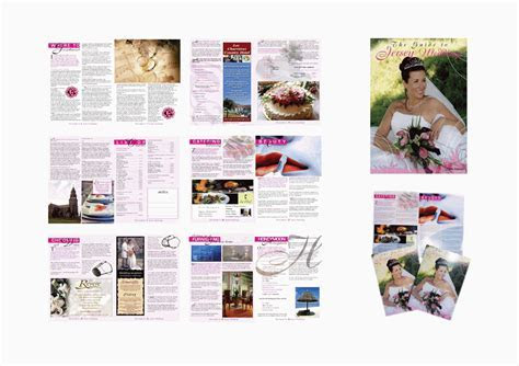 Octopus: Wedding Magazine Layout