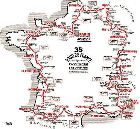35ème Tour De France 1948
