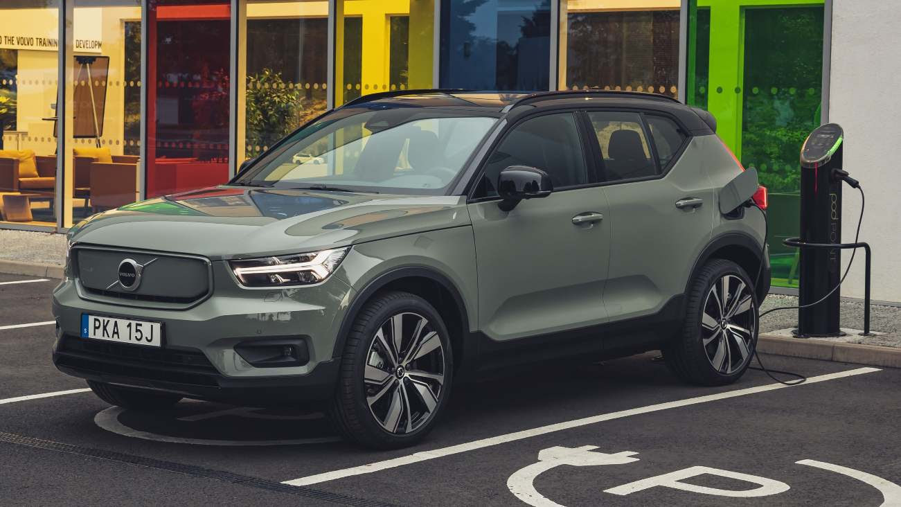 The XC40 Recharge was Volvo's first all-electric model. Image: Volvo