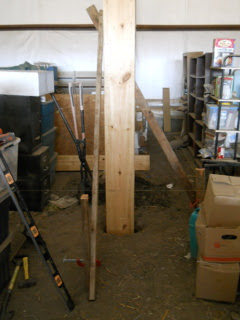 Barn Loft Post Braced