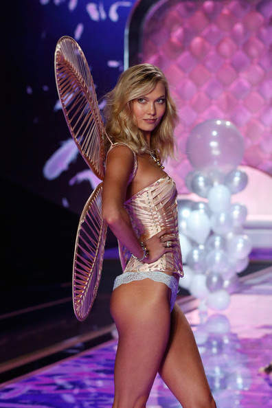 Karlie Kloss Delivers a Sultry Stare