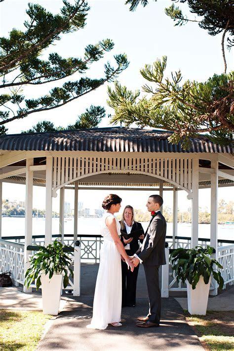 Newstead Rotunda wedding with Brisbane Celebrant, Ciara