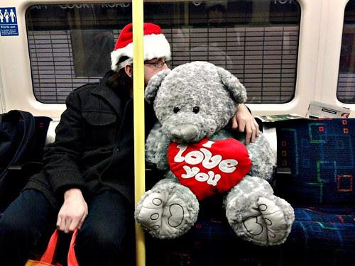 Leonard Q. Bearrington on the tube by Mevana Ana