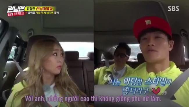 Kim Jong Kook gây tranh cãi khi nói những người cao không giống phụ nữ - Ảnh 3.