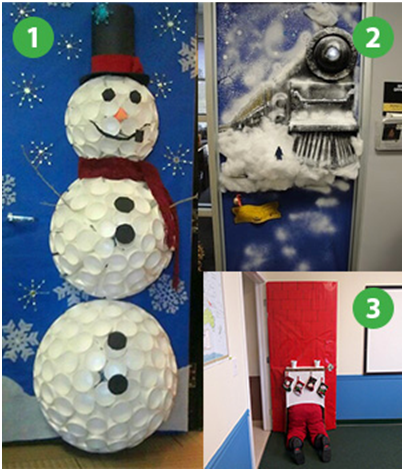 Office Decoration Ideas For The Holidays Vision Office Interiors