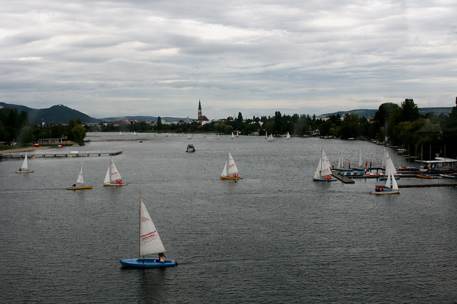 Sailing at the Danube