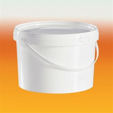 litre food grade plastic bucket  lid