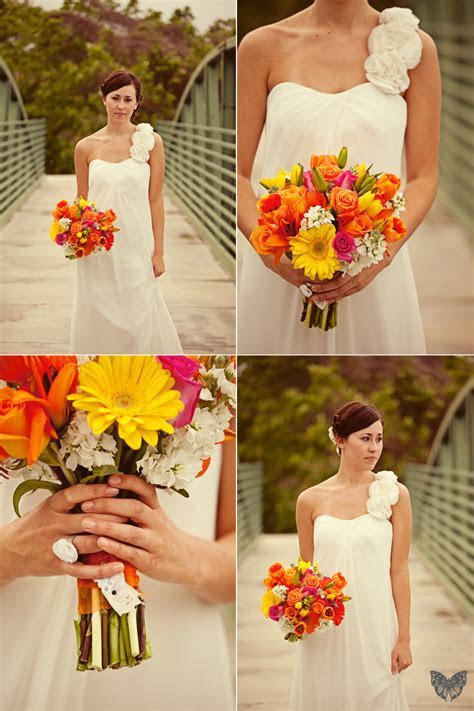 Vintage Orange & Teal Wedding {Part 1}   Every Last Detail
