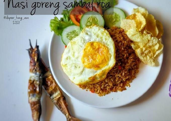 Resep Nasi goreng sambal roa Bikin Nagih