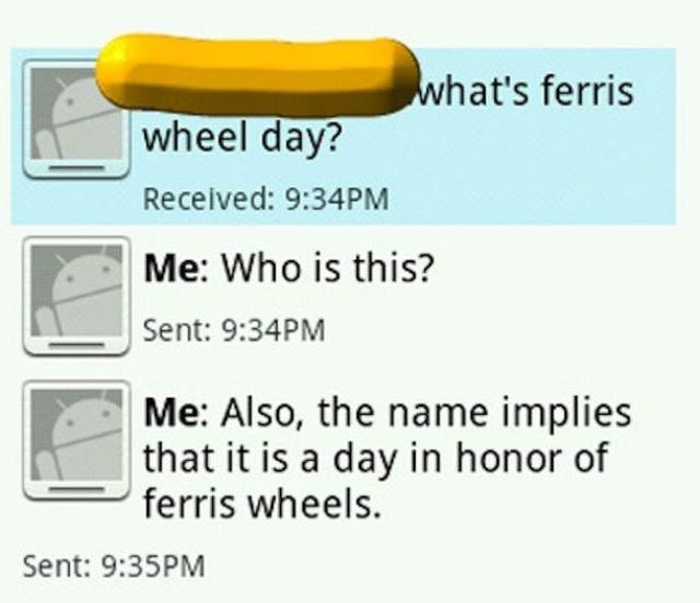 Totally Awkward Wrong Number Texts