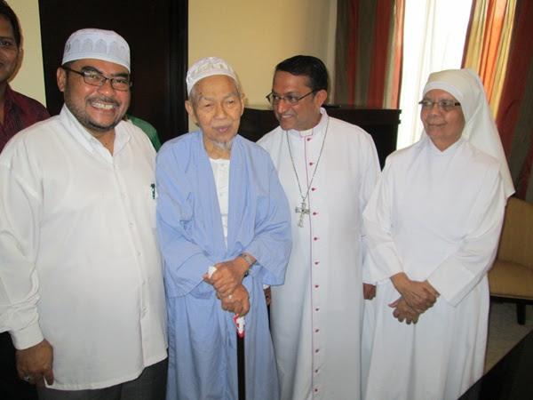 Mujahid, Nik Aziz, Sebastian and Francis and Marie Jeanne
