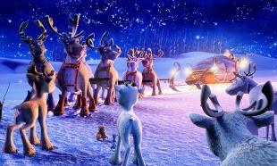 Um Voo Encantado em Noite de Natal