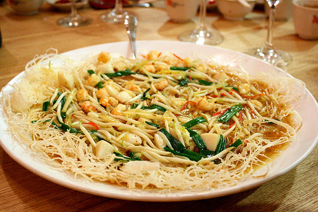 Pan Fried Rice Vermicelli Malay Style
