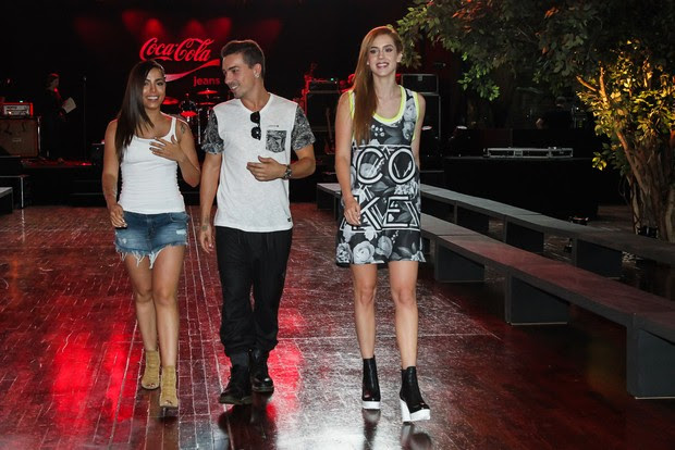Anitta, Di Ferrero e Sophia (Foto: Manuela Scarpa/Photo Rio News)