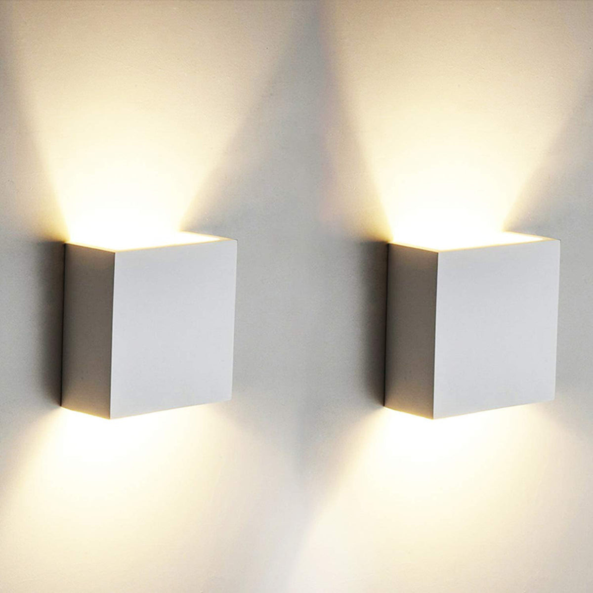 Aourow 7w Led Wall Light Up Down Indoor Wall Lamp Modern Aluminum Upli