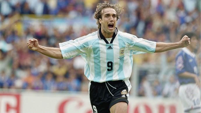 Gabriel Batistuta Argentina (Foto: Getty Images)
