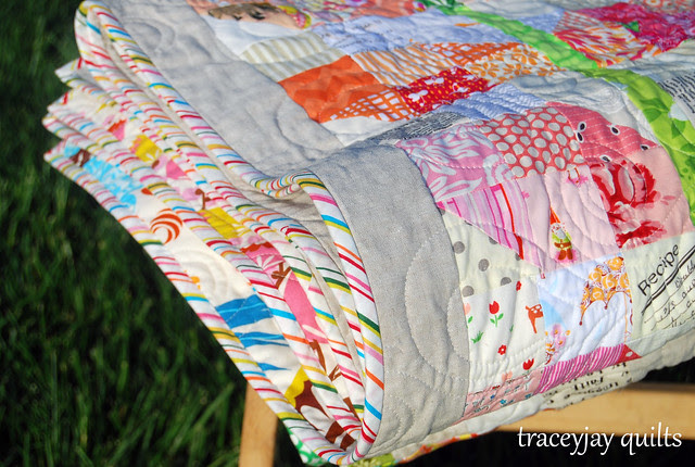 Scrappy Sprouts binding