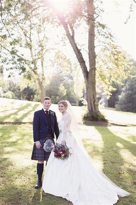 A Gorgeous Fall Scotland Wedding   MODwedding