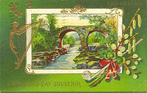 "Postcard: ""St. Patrick's Day Souvenir&quo..."