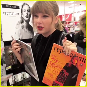 Taylor Swift Surprises Fans While Buying 'Reputation' in Target - Watch Now!