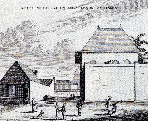 写真:「東西海陸紀行」所収の銅版画