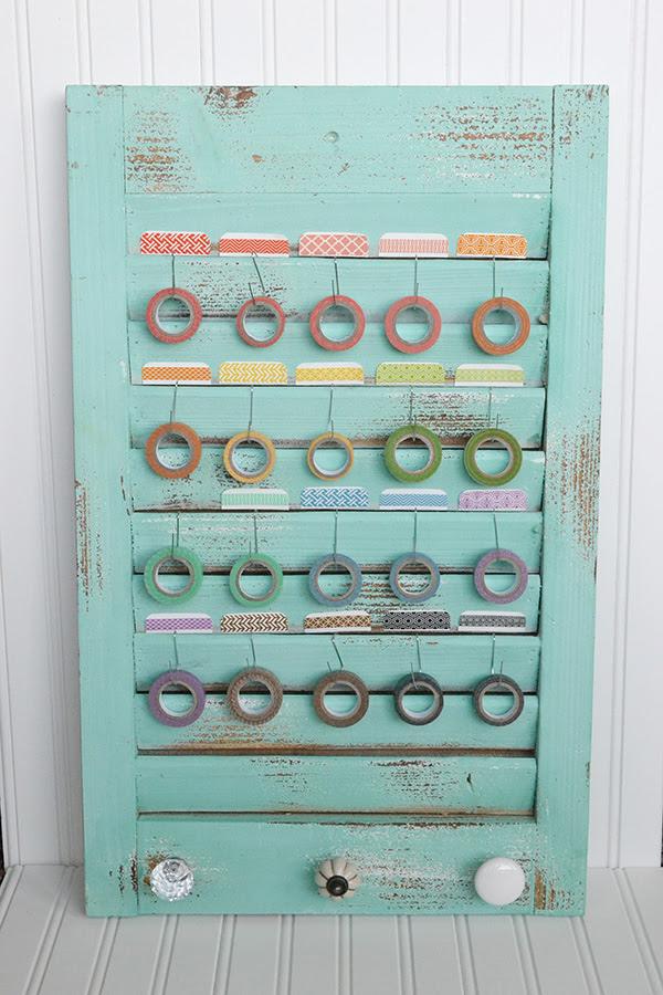 Washi Tape Storage by Aly Dosdall
