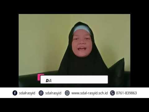 kampanye pencegahan COVID-19 oleh Dafina Putri Damayanti kelas 4 al-fattah