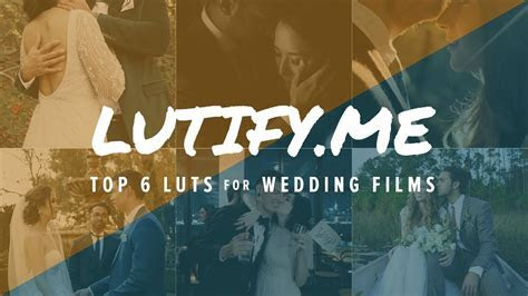 TOP 6 FAVORITE LUTS from Lutify.me ? How to Color Grade