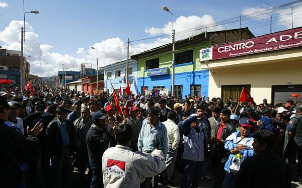 Andahuaylas, Apurímac, Sutep, Fiestas Patrias 2012, Conare-Sutep, Protestas en Apurímac