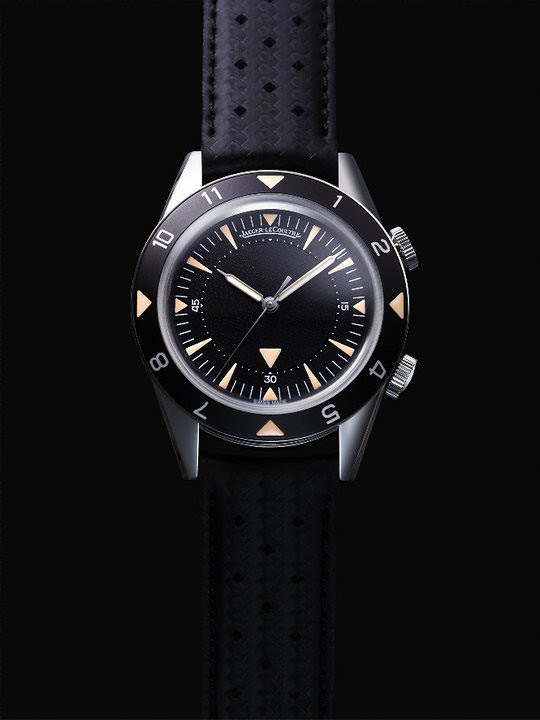 Jaeger-LeCoultre Memovox Tribute to 'Deep Sea' Watch