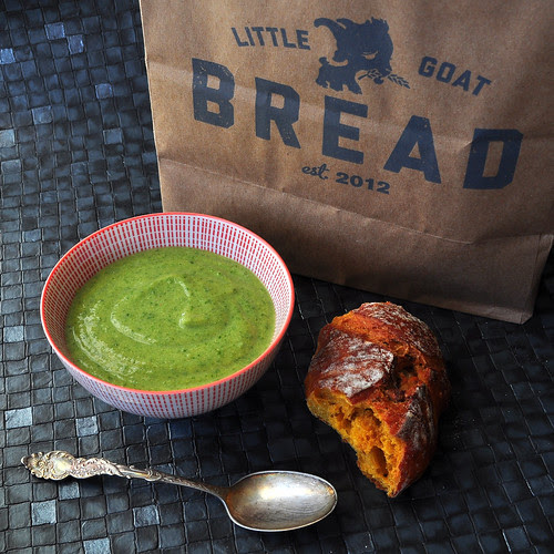 Broccoli and Cheddar Soup 3