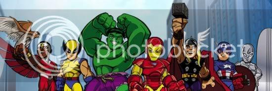 The Super Hero Squad Show Teaser Site
