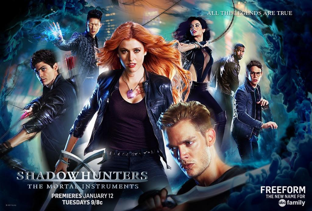 Resultado de imagen de shadowhunters poster