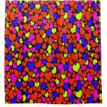 Bright Multicolored Hearts