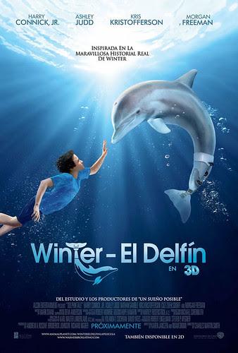 WINTERW EL DELFIN en DVD Y BLU RAY