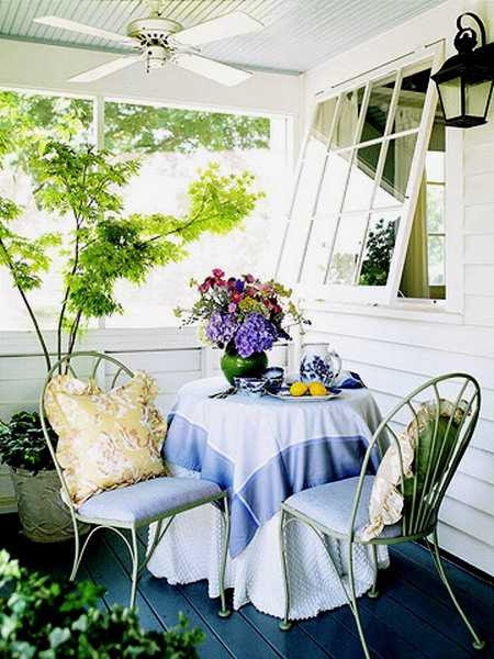 Home Fabrics for Outdoor Decor, Beautiful Summer Decorating Ideas