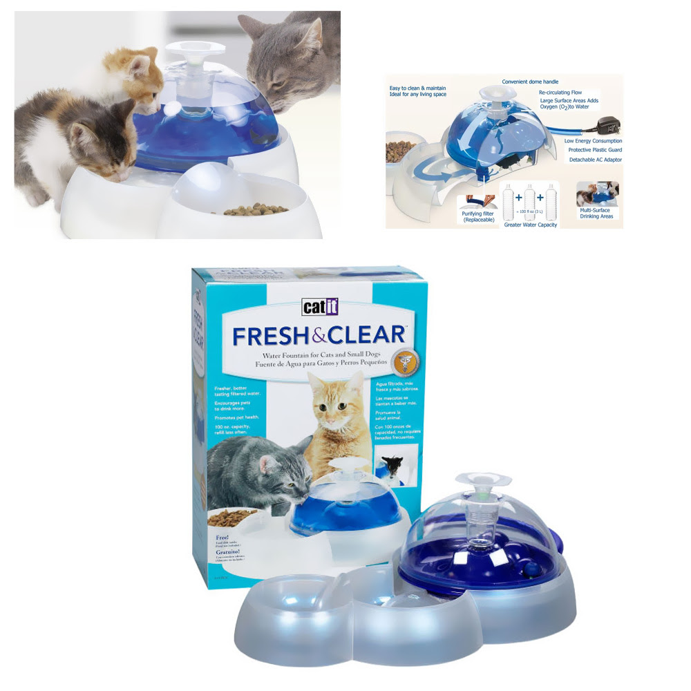 Catit Fresh And Clear Fountain Cleaning Instructions