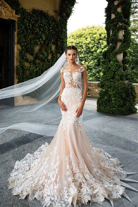 Best 10 Mermaid Wedding Gowns Ideas On Pinterest Lace