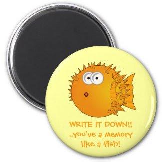 Write it down! Puffer fish - funny sayings