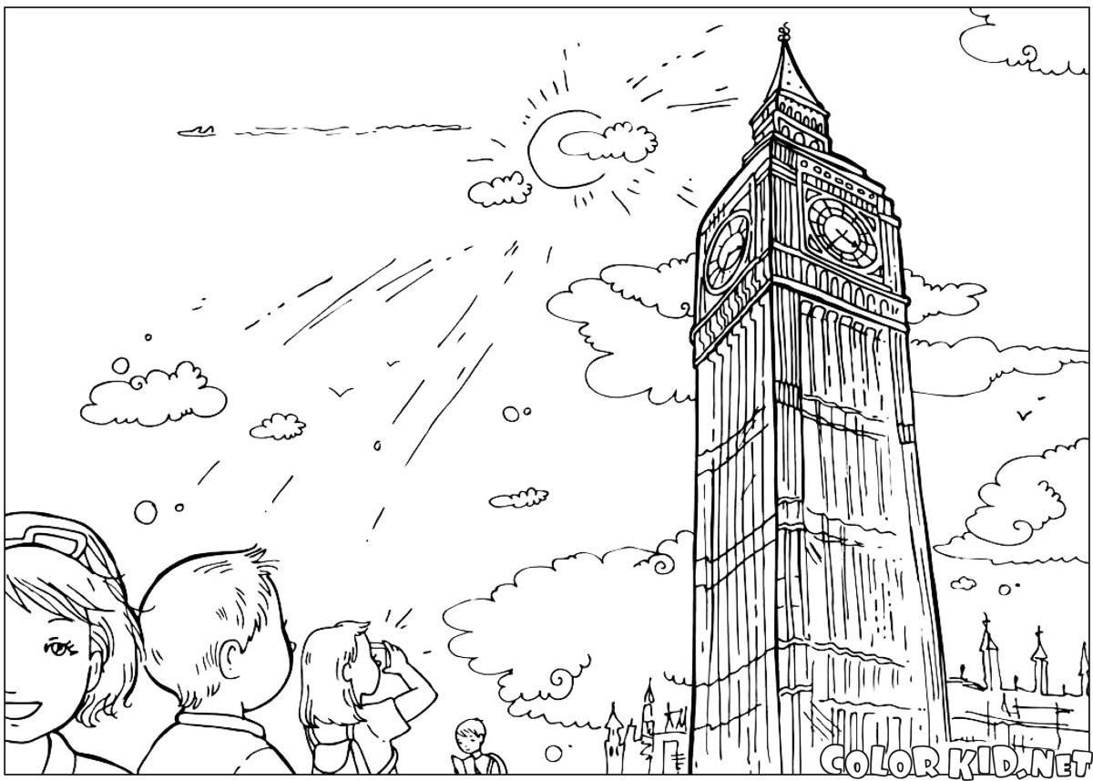 Boyama Sayfası Big Ben