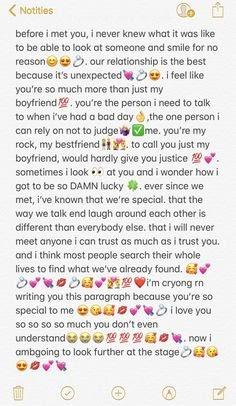 Süßer langer text
