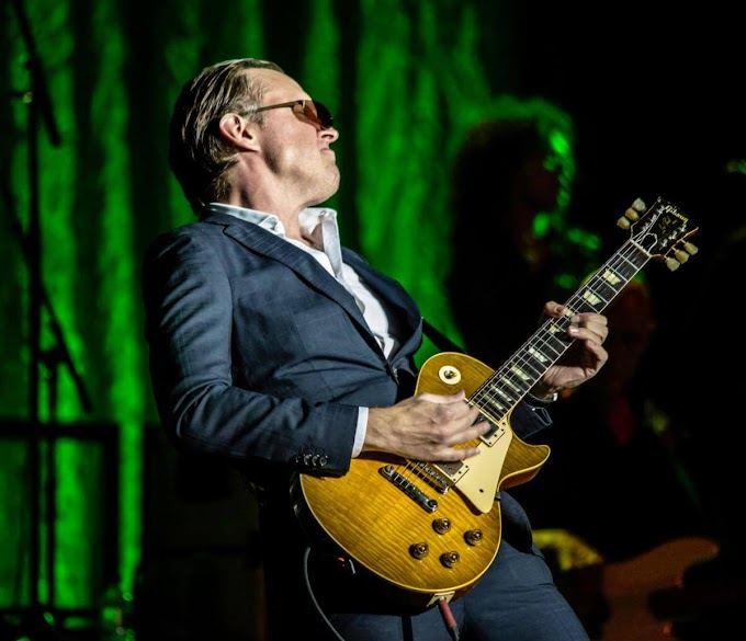 Joe Bonamassa to Livestream Concert From Ryman Auditorium September 20