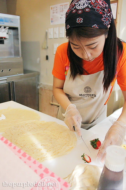 Freshly-Prepared Crepes