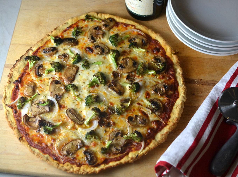 Pizza with Cassava Flour - Pamela's Gluten Free and ...