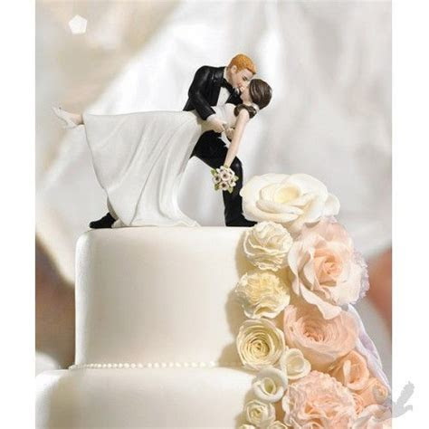 Finally! I wedding cake topper with a blonde groom and