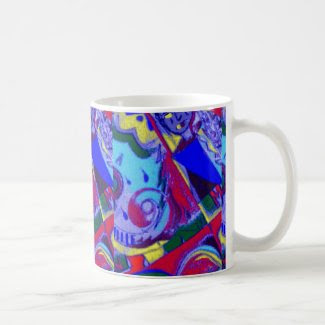 Abstract Designed Colorful Coffee/Tea Mug