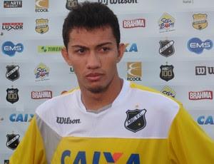 Jandson Chiclete - meia do ABC (Foto: Carlos Arthur da Cruz/Globoesporte.com)