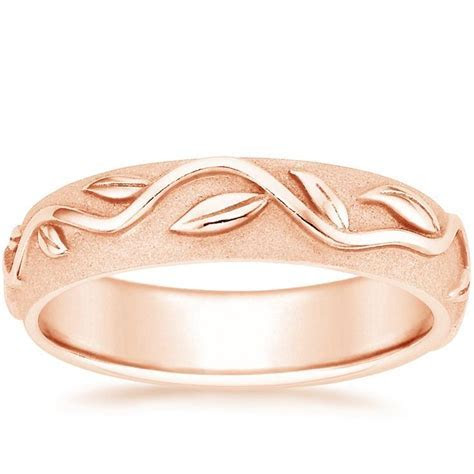 14K Rose Gold Wide Ivy Ring from Brilliant Earth   wedding